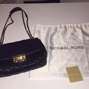 Michael Kors quilted evening bag